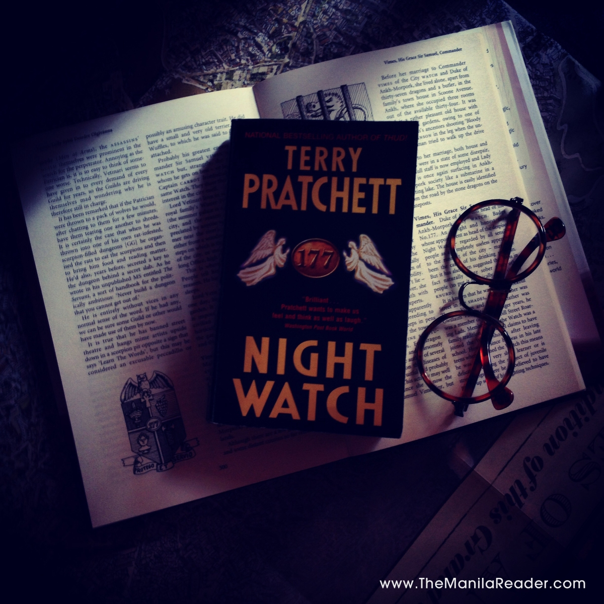 The Beast and The Better Angels of Our Nature; A Reading of Night Watch by Terry Pratchett