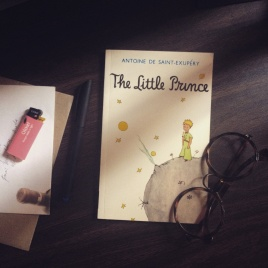 The Little Prince, written and illustrated by Antoine de Saint Exupery