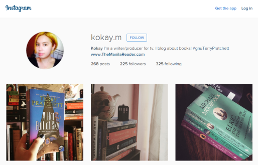 Well this is me on Instagram. You can see my latest posts on the right side panel of this blog.